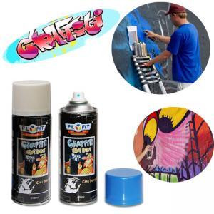 Quality Fading Resistant Aerosol 500ml Graffiti Artist Spray Paint Enviromental Friendly for sale