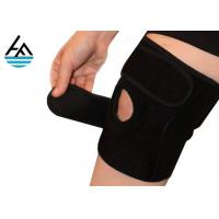 Buy cheap Unisex Powerlifting Knee Sleeves , Knee Compression Sleeve Running With Holes from wholesalers