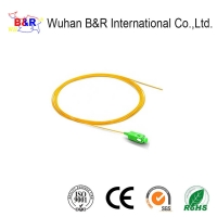 Quality Single Mode 1m 0.9mm 0.9mm Fiber Optic Pigtail for sale