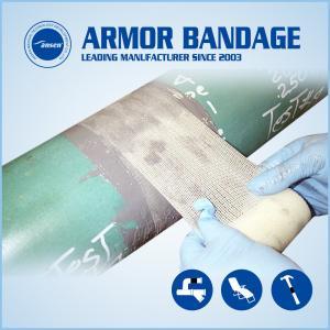 China 100mm4.6m Ansen Black Pipe Wrap Repair Bandage Fix it Wrap Repair Tape Fiberglass Fix Tape on sale