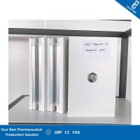Quality Grey Color Fireproof Clean Room Wall Panels Large Plate Surface And High Level for sale