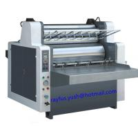 Quality Hydraulic Semi Automatic Flute Laminating Machine 100 ~ 1500gsm Cardboard Support for sale