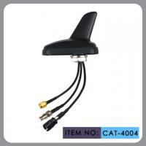 Auto AM FM Gps External Antenna , Shark Fin Car Aerial RHCP Polarization