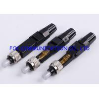 Quality FC Field Installable Fast Connector For FTTH Cable / Indoor Patch Cable for sale