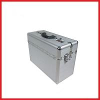 Quality Aluminum Silver Metal Lawyer Briefcase for sale