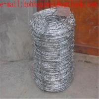 China 12*14 galvanized barbed wire length per roll/razor barbed wire factory price,iron razor barbed wire fence, razor wire on sale
