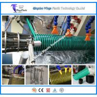 Quality PVC Spiral Reinforced Helix Suction Hose Extrusion Machine / Line for sale