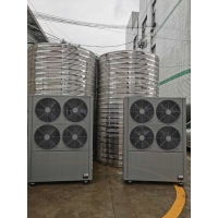 Quality 11-100KW 220 / 380 V Hybrid Water Heater , Air Heat Pump Water Heater 4.0 Cop for sale