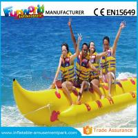 China Banana Boat Inflatable Water Toys / Water Towable Tube with Customized Size on sale