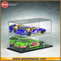 China LED Illuminated Acrylic Lighted Model Diecast Car Display Cases Box on sale