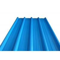 Quality Length Max 3000mm Galvanized Corrugated Panels , SGCC Corrugated Zinc Roofing Sheets for sale
