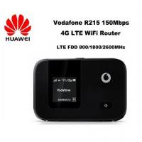 Quality Unlock Vodafone LTE FDD wireless router 150Mbps Vodafone R215 4G LTE Mobile WiFi Router for sale
