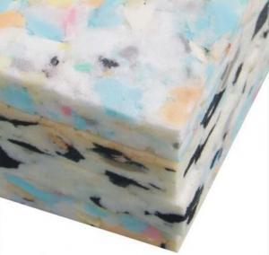 China Rebonded foam polyurethane recycled foam sheet on sale