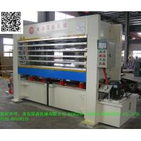 Quality GUOSEN Hot Press machine for Aluminum Honeycomb Panel with big dimension for sale
