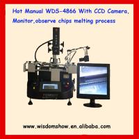 China HOT manual bga rework station WDS-4866 infrared mobile phone repairing machine tools for solder and desolder station on sale