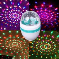 Buy cheap Hot Sale!!! E27 3W LED Full Color Rotating Lamp from wholesalers