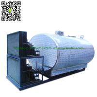 Quality Stainless steel Milk Cooling Tank  Body For Lorry Trucks  8CBM- 25CBM for sale