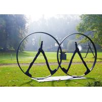 Quality Western Style Couple Figure Bronze Outdoor Sculptures For Park Decor for sale