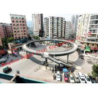 Quality Circular Structure Prefabricated Pedestrian Bridges in Transportation Junction Area for sale