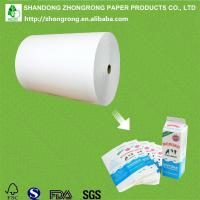 Quality PE coated paperboard for short shelf life gable top milk box for sale