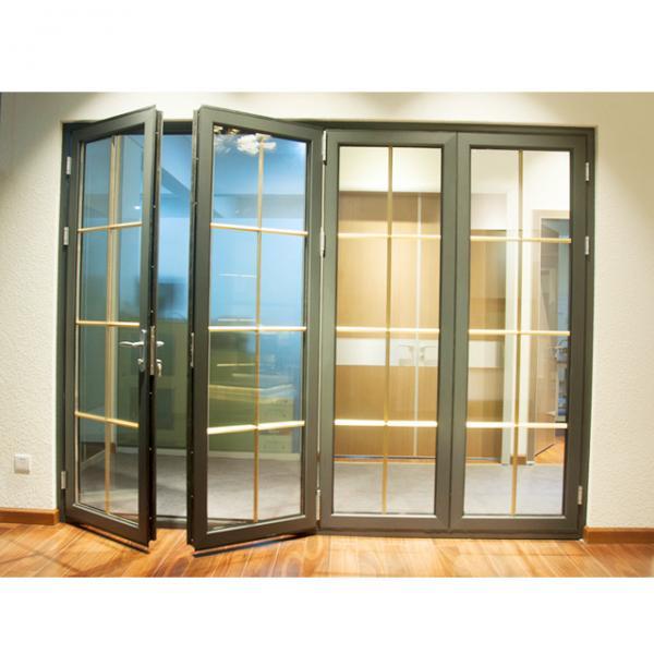aluminium folding panel door,Folding glass exterior door,partition folding interior doors
