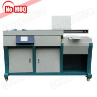 Quality SO-GB009 automatic bookbinding glue binding machine with side glue function for sale