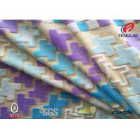 Buy cheap Polyester Super Soft Tricot Velboa , Spandex Velvet Fabric For Home Textile from wholesalers