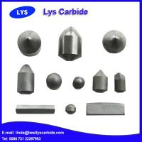 Quality Tungsten Carbide Teeth / Carbide Buttons For Mining Tools for sale