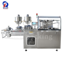 China Liquid Portable Hair Care Products Blister Packing Machine Automatic Dpp 160L on sale
