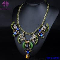 Quality Resin Women Statement Necklace Resin Flower Necklaces Pendants Fashion Collar Choker Necklace for sale
