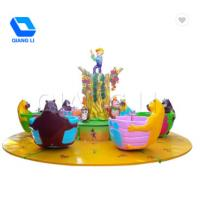 China Cartoon Theme Park Rides / Kids Love Bee Cup Ride Lifetime Technical Support on sale