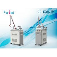 Quality factory 2 wavelength 1064 532 all colors tattoo removal pigmentation removal nd:yag laser for sale