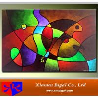 China Bright Color Abstract Oil Painting on sale