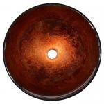 Quality Modern Artistic Glass Bowl Bathroom Vanity Sinks , Colored Bathroom Lavatory Sinks for sale
