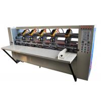 Quality Carton Box Use Thin Blade Slitter Scorer Machine With Automatic Sharpening Blades for sale