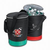 China Cruiser Round Insulated Cooler Bag with Adjustable Handle on sale