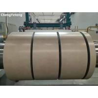 Quality Matt PE Coating Prepainted Steel Coil , Interior Decoration Material Stainless Steel Roll for sale