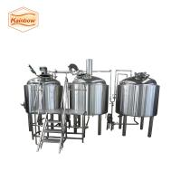 Quality Turn-key beer brewing equipment good welding brewery machine for sale