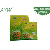 Buy cheap Food ingredient packaging Plastic Pouches Moisture Proof , Zip lock Bag Stand from wholesalers
