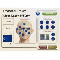 Quality 1550nm Fractional Erbium Glass Laser For Skin Resurfacing , Anti Wrinkle Machine for sale