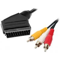21pin scart cable flat