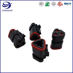 Quality DT IP68 1.5 mm Plug PA TE Connectivity AMP Connectors for Refrigerator for sale