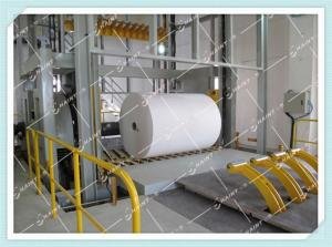 China Automatic Control Paper Roll Handling Conveyor Equipments With Data Management System on sale