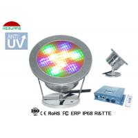 Quality 5 Wires RGB DMX Control LED Underwater Pool Lights 9W 12V DC 316 Stainless Steel for sale