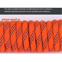 Quality 6mm accessory cord climbing rope nylon 66, high strength fire escape safety climbing rope for sale