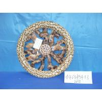 Quality wooden adornment in wheel shape with competitive price ,a good home decoration for sale