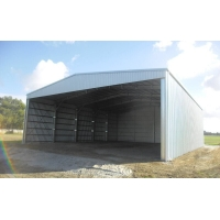 Quality Q345B Light Steel Poultry Shed Construction High Strength Bolted Connection for sale