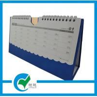 Quality Custom Calendars Printing with 250gsm C2S Art Paper for Business Table for sale