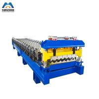 Buy Color Steel Glazed Tile Roll Forming Machine Nigerian To Mexico at wholesale prices