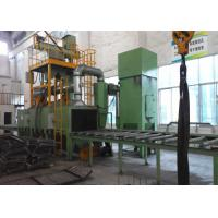 Quality Solid Square Dust Cleaning Machine / Industrial Shot Blasting Equipment for sale